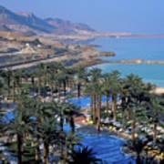 Luxury Resort On The Dead Sea Art Print