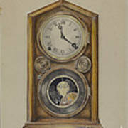 Mantel Clock Art Print