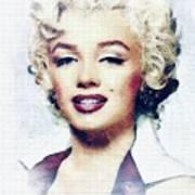 Marilyn Monroe, Actress And Model Art Print