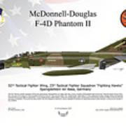 Mcdonnell Douglas F-4d Phantom II Art Print