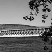 Mcnary Dam Art Print by Robert Bales