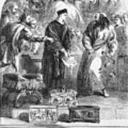 Merchant Of Venice Art Print