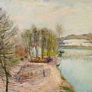 Moret-sur-loing Art Print