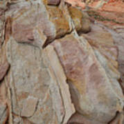 Morning In Valley Of Fire State Park Art Print