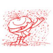 Mr Redhair Serie Art Print