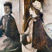 Mrs Jeantaud In The Mirror  Art Print