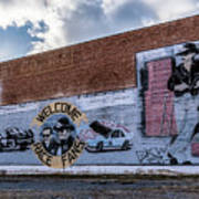 Mural - Downtown Bristol Tennessee/virginia Art Print