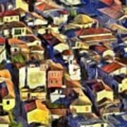 Nafplio Town Art Print