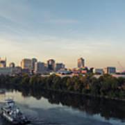 Nashville Tennessee Skyline Sunrise  Art Print