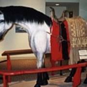North Dakota Cowboy Hall Of Fame Art Print