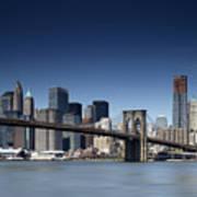 Nyc Brooklyn Bridge Art Print