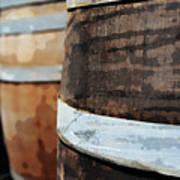 Oak Wine Barrel Art Print