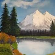 Oil Painting Art Print