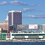 Panoramic View Of Atlantic City, New Jersey Art Print
