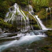 Panther Creek Falls Art Print