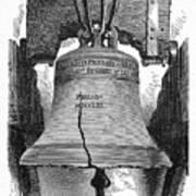 Philadelphia: Liberty Bell Art Print