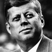 President Kennedy Art Print by War Is Hell Store