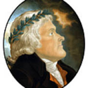 President Thomas Jefferson - Two Art Print