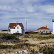 Race Point Lighthouse Art Print