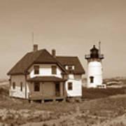 Race Point Lighthouse Art Print