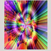 Rainbow Light Art Print