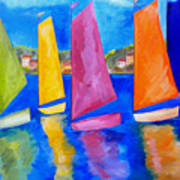 Reflections Of Tortola Art Print