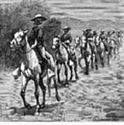 Remington: 10th Cavalry Print by Granger
