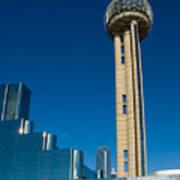 Reunion Tower - Dallas Texas Art Print