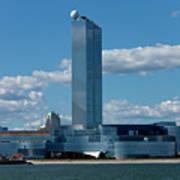 Revel Casino In Atlantic City, New Jersey Art Print