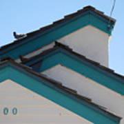 3 Roofs Art Print