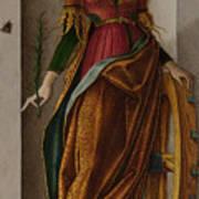 Saint Catherine Of Alexandria Art Print