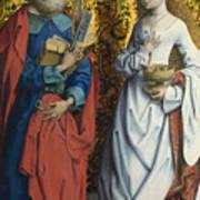 Saints Peter And Dorothy Art Print