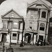 San Francisco Earthquake Art Print