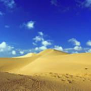 Sandy Desert Art Print
