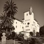Santa Barbara County Courthouse Art Print