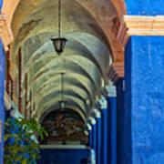 Santa Catalina Convent Arequipa Art Print