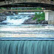 Scenes Around Spokane Washington Downtown Art Print