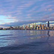 Seattle Skyline Cityscape Art Print