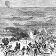 Siege Of Paris, 1870 Art Print