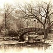 South Bridge - Central Park Art Print