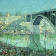 Spring Night Harlem River Art Print