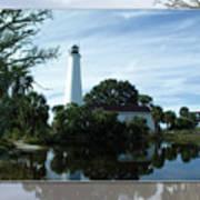 St Mark's Lighthouse Art Print