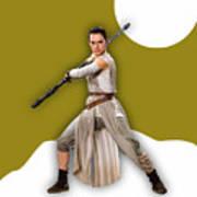 star Wars Rey Collection Art Print