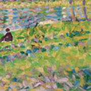 Study For Sunday Afternoon On The Island Of La Grande Jatte Art Print