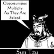 Sun Tzu Art Print