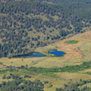 Superb Landscape In Rocky Mountain National Park Art Print