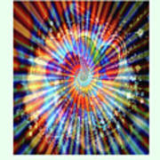 Supernova Of Love Art Print