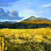 Taos Mountain Art Print