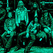 The Allman Brothers Collection Art Print