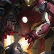The Avengers Age Of Ultron 2015  Art Print